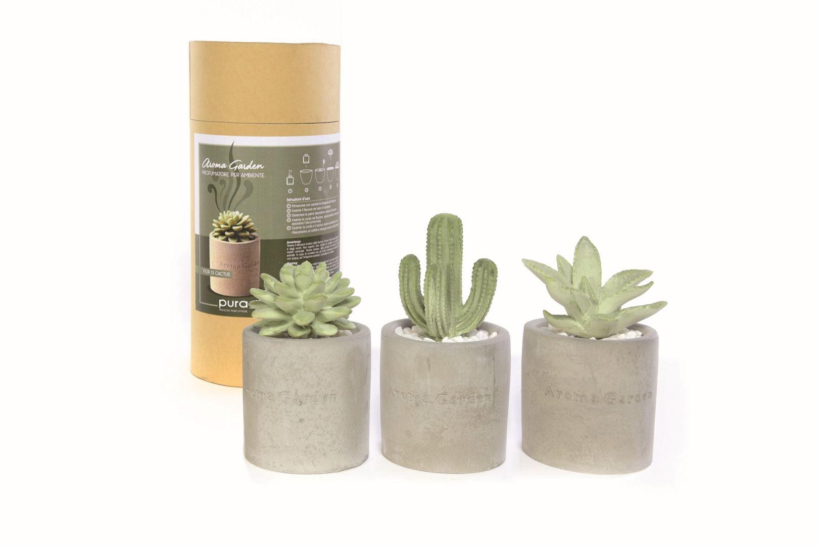 profumatori ambiente pura forma di cactus